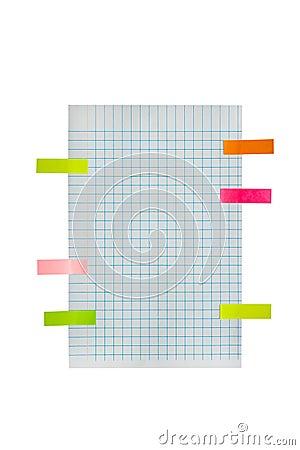 post it chart paper