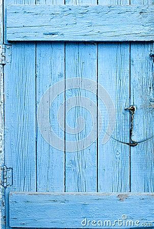 Free Blue Grunge Door Stock Image - 35447731