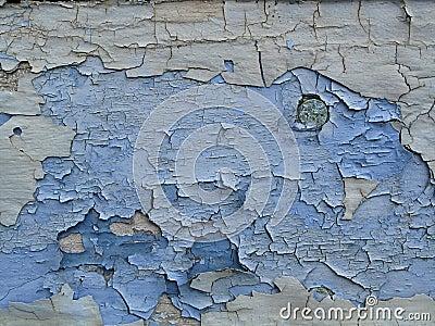 Blue grunge planks