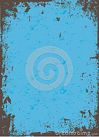 Free Blue Grunge Vector Stock Photo - 8345980