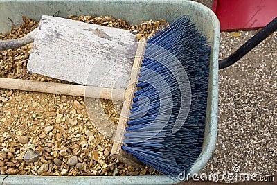 Blue handbarrow
