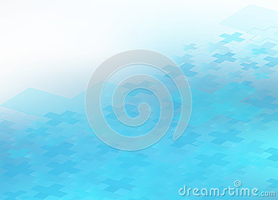 Blue Healthcare Medical Plus Icon Background
