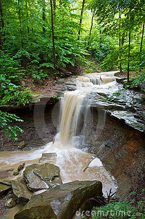 Blue Hen Creek Falls