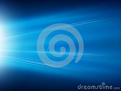 Blue Hex Super Nova Background