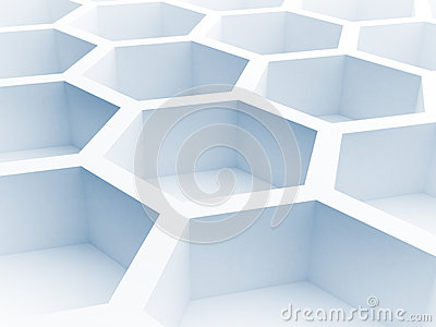 abstract honeycomb composition royalty - photo #23