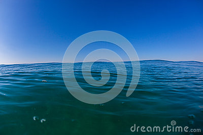 Blue Horizon Ocean Water Photo