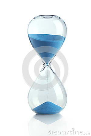 Free Blue Hourglass Stock Photos - 41223693