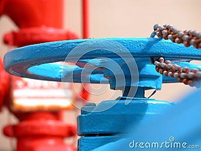Blue Hydrant
