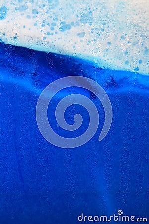 Blue ice beverage