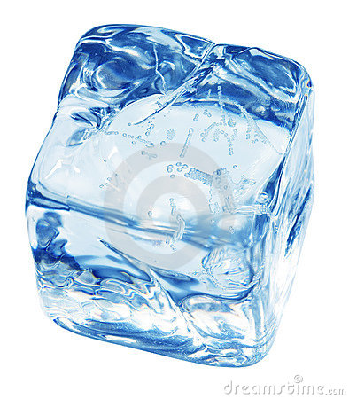 Free Blue Ice Cube Stock Images - 5361664