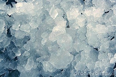 Blue ice texture background stacked pattern