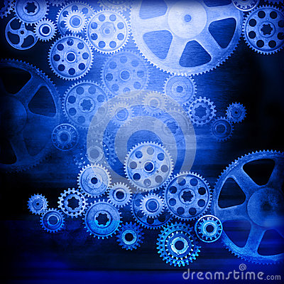 Cogs Gears Industrial Background