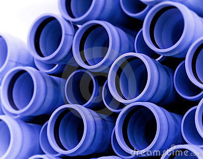 Blue Irrigation Pipe