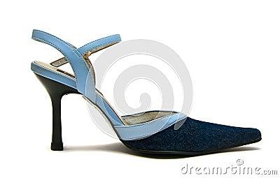 Blue Jean Shoe