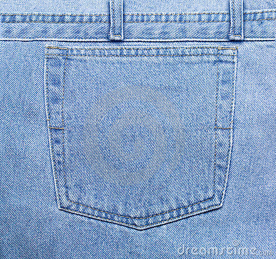 Free Blue Jeans Pocket Royalty Free Stock Photo - 156685
