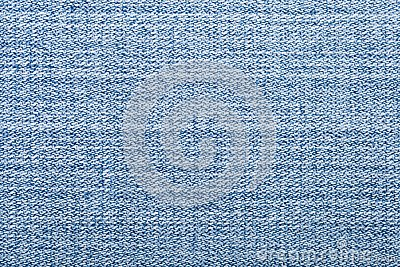 Blue jeans textile macro