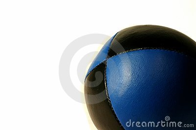 Blue Juggling ball