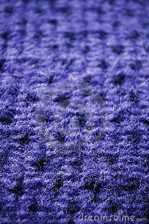 Blue knitting wool texture