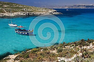 Blue Lagoon - Island of Comino - Malta