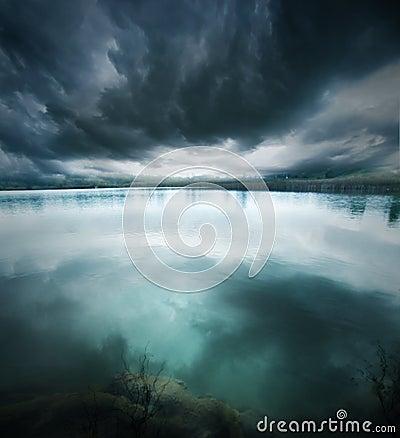 Free Blue Lake Stock Photos - 11768453