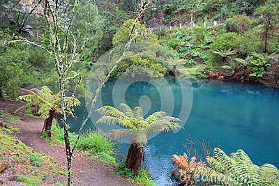 Blue Lake at Jenolan Caves