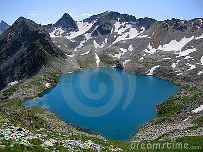 Blue Lake of Murundzhu
