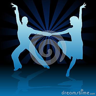 Blue Latino Dance