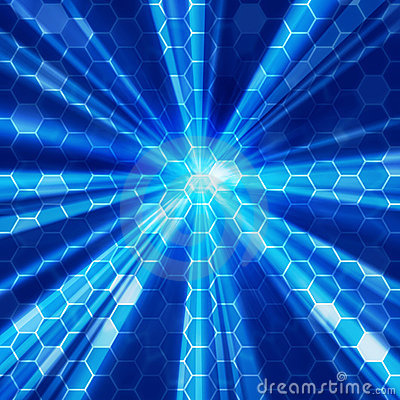 Free Blue Light Background 02 Stock Images - 12419404