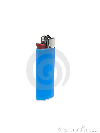 Blue lighter