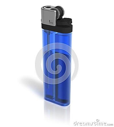 Free Blue Lighter Royalty Free Stock Photos - 16195408