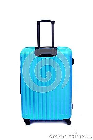 Free Blue Luggage Isolated Stock Photos - 90799423