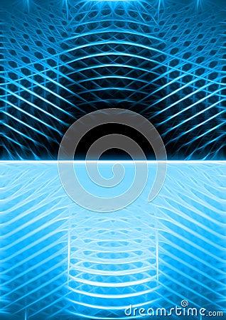 Blue luminescence