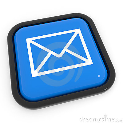 Blue mail button.