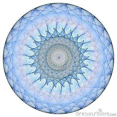 Free Blue Mandala Stock Image - 1977791