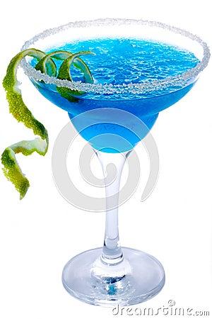 Free Blue Margarita Royalty Free Stock Photos - 13590798