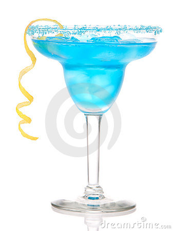 Blue Margarita cocktail