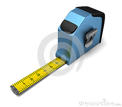 Blue Measuring tape