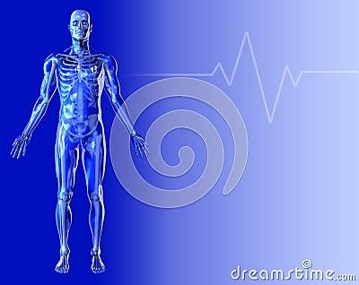 Blue Medical Background 2