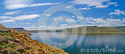 Blue Mesa Reservoir in the Curecanti National Recreation Area in Southern Colorado