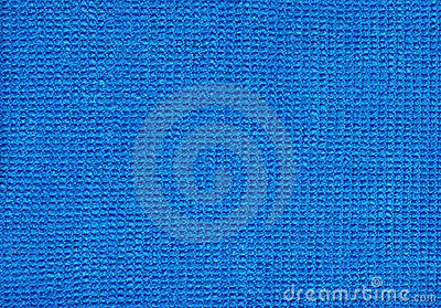Blue Micro Fibre Fabric