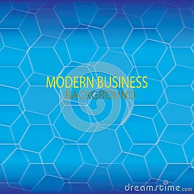 Blue Modern technology background Stock Photo