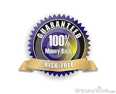 blue money-back guarantee