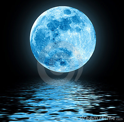 Free Blue Moon Stock Photos - 22297973