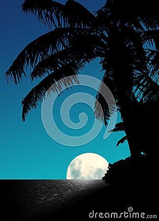 Blue Moon Rise