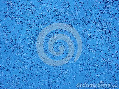Blue Moroccan Wall Texture