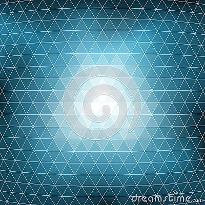 Blue Mosaic Background Texture