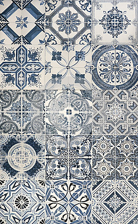 Free Blue Mosaic Tiles Royalty Free Stock Images - 69110769