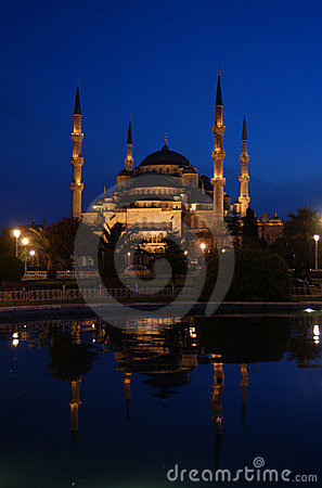 Free Blue Mosque Royalty Free Stock Photography - 815537