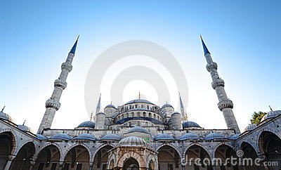 The Blue Mosque, Istanbul - Turkey