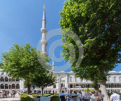 Blue Mosque Istanbul Turkey Editorial Photo